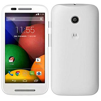 brand new motorola moto e xt1021 white android 3g gps wifi mobile phone unlocked ebay. Black Bedroom Furniture Sets. Home Design Ideas